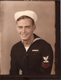 Patrick served in the Navy Air Corps during WWII.