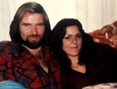 Diana Robertson (right) is pictured with her boyfriend Michael Riemer (left) in an undated photograph. Diana died of homicide, while the manner of Michael's death is officially unknown.