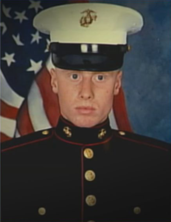David enlisted in the United States Marine Corps after graduating from high school. He took great pride in being a Marine and eventually concluded his four years of service with an honorable discharge. Later, he would vocally oppose the depiction of events in the 1992 film A Few Good Men, which he felt maligned him.