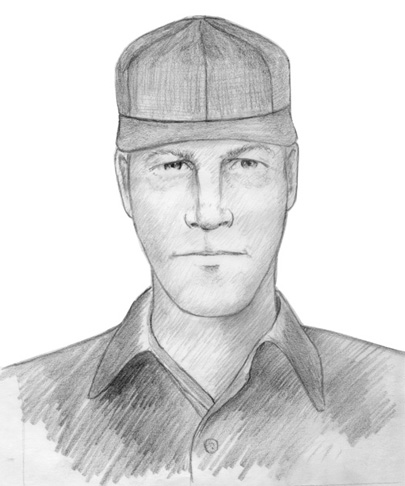 In 2009, seven years after the Short family triple-homicide, the FBI released this sketch of a man reportedly seen in the area of the Short family home around the time of their murders.