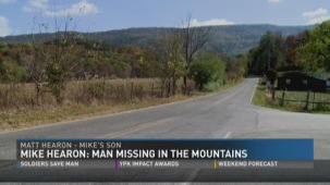 A screen shot from a WBIR news segment on Mike's disappearance (link below) shows the Happy Valley, TN area where Mike disappeared from.